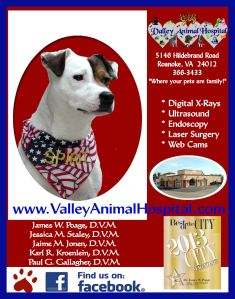 Valley Animal Hospital Sponsor