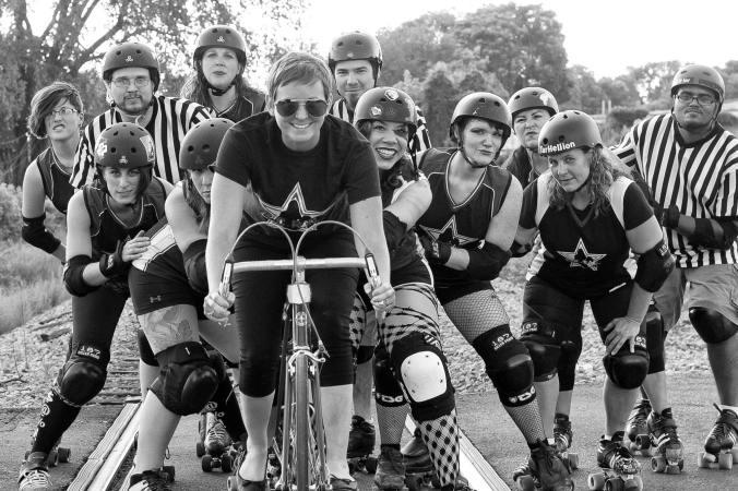 Star City Roller Girls team photo.