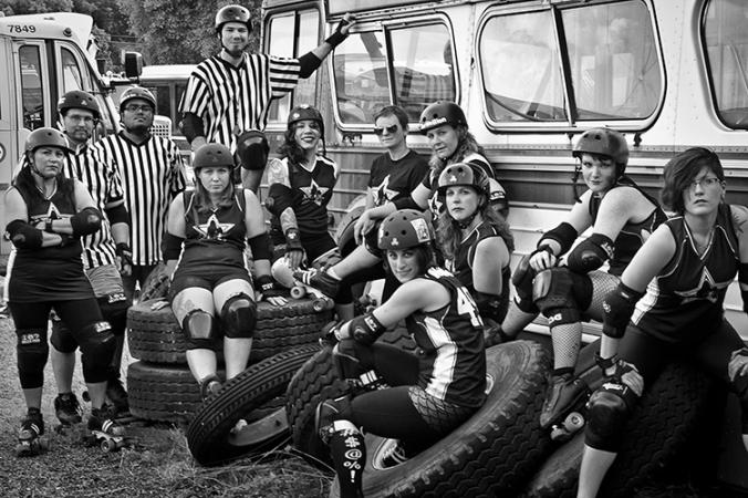 Star City Roller Girls team photo