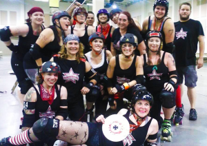 Star City Roller Girls team photo